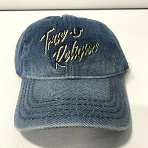 "True Religion ""Distressed Denim"" Hat"